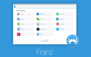 Franz is a free cross-service messaging app.
