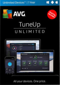 AVG PC TuneUP can be installed on unlimited devices.