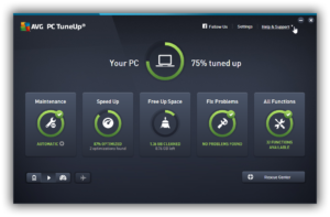 VG PC TuneUp 2016 automatically runs important maintenance tasks