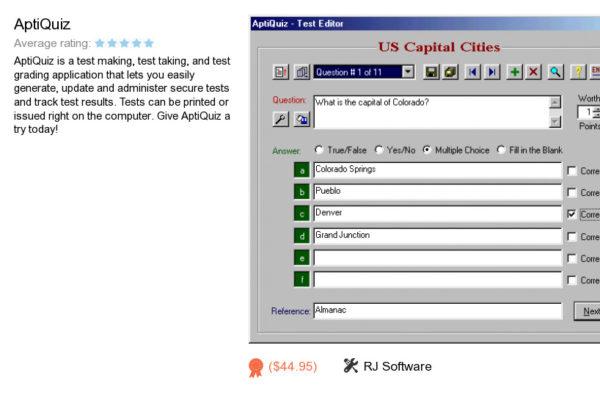 quiz app | RJ Software