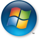 Windows Vista has the embossed logo.